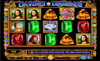 Da Vinci Diamonds Screenshot