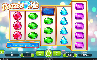 Dazzle Me Slots Screenshot
