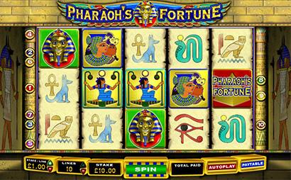 Pharaohs Fortune Screenshot