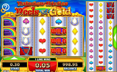 Rainbow Riches – Reels of Gold Screenshot