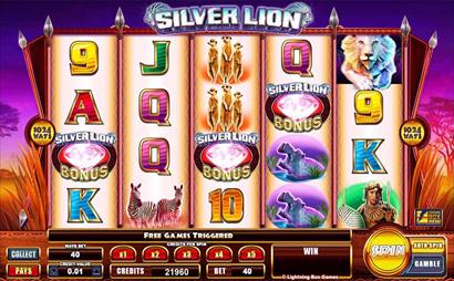 Silver Lion Screenshot