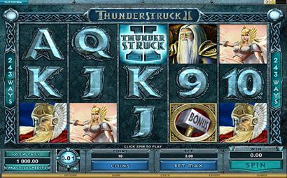 Thunderstruck II Screenshot