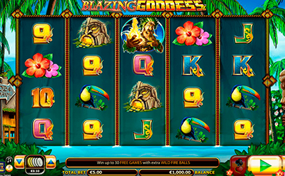 Blazing Goddess Screenshot