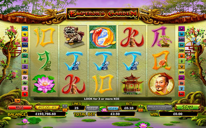 Emperors Garden Screenshot