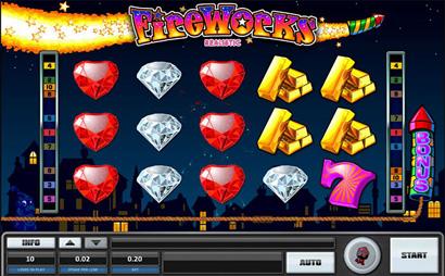 Fireworks Slots Screenshot