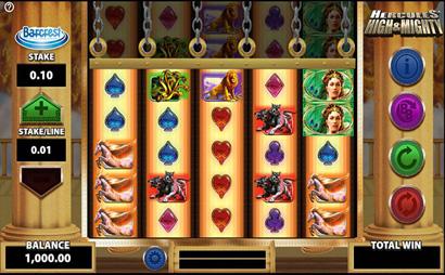 Hercules High and Mighty Screenshot