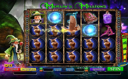 Merlins Millions Screenshot
