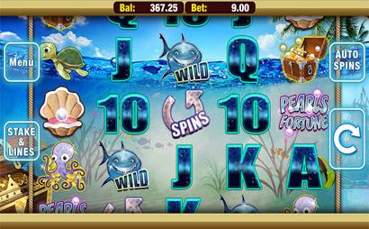 Pearls Fortune Screenshot