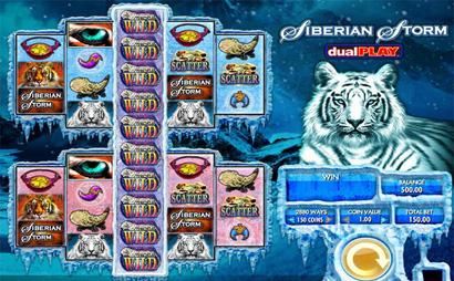 Siberian Storm Dual Play Screenshot
