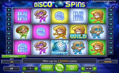 Disco Spins Screenshot