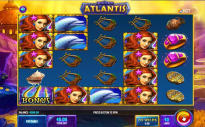 King of Atlantis Screenshot