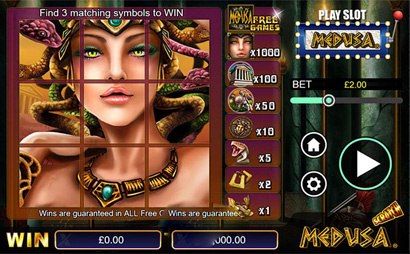 Medusa Scratch Card Screenshot