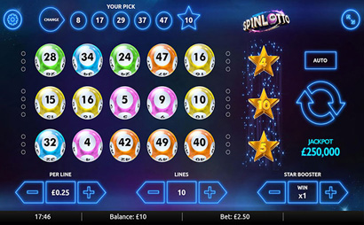 Spin Lotto Screenshot