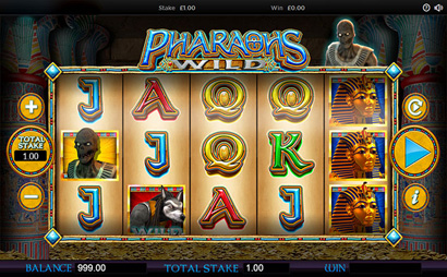 Pharaohs Wild Screenshot