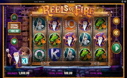 Reels of Fire Screenshot