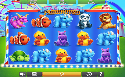 Fluffy Favourites Fairground Screenshot