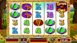 Rainbow Riches Drops of Gold Screenshot