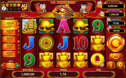 88-Fortunes Screenshot