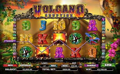 Volcano Eruption Screenshot