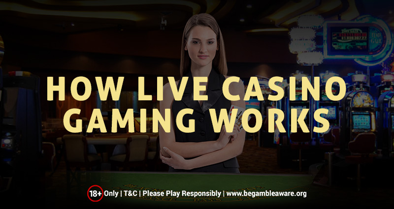 How Live Casino Gaming Works?