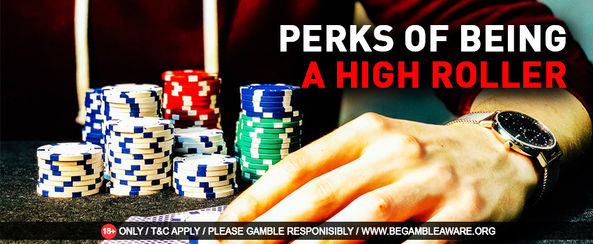 Being a High Roller At a Live Casino - Perks and Benefits