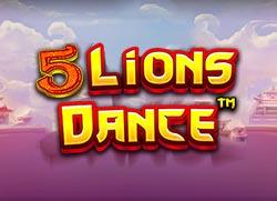 5 lion dance