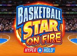 Basketball Star on Fire