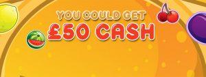 £50 cash